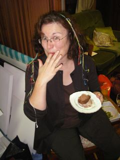 Kate enjoyed the cake