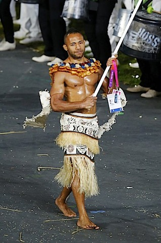 Fiji Flag Bearer 2012.jpg